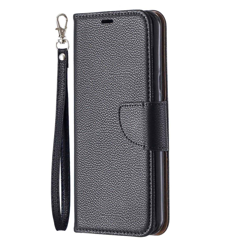 LG Q60 Flip Case Schutzh/ülle H/ülle mit Standfunktion Kartenfach Magnet Brieftasche f/ür LG K50 Docrax Handyh/ülle Lederh/ülle f/ür LG K50 LG Q60 DOBFE130501 Violett