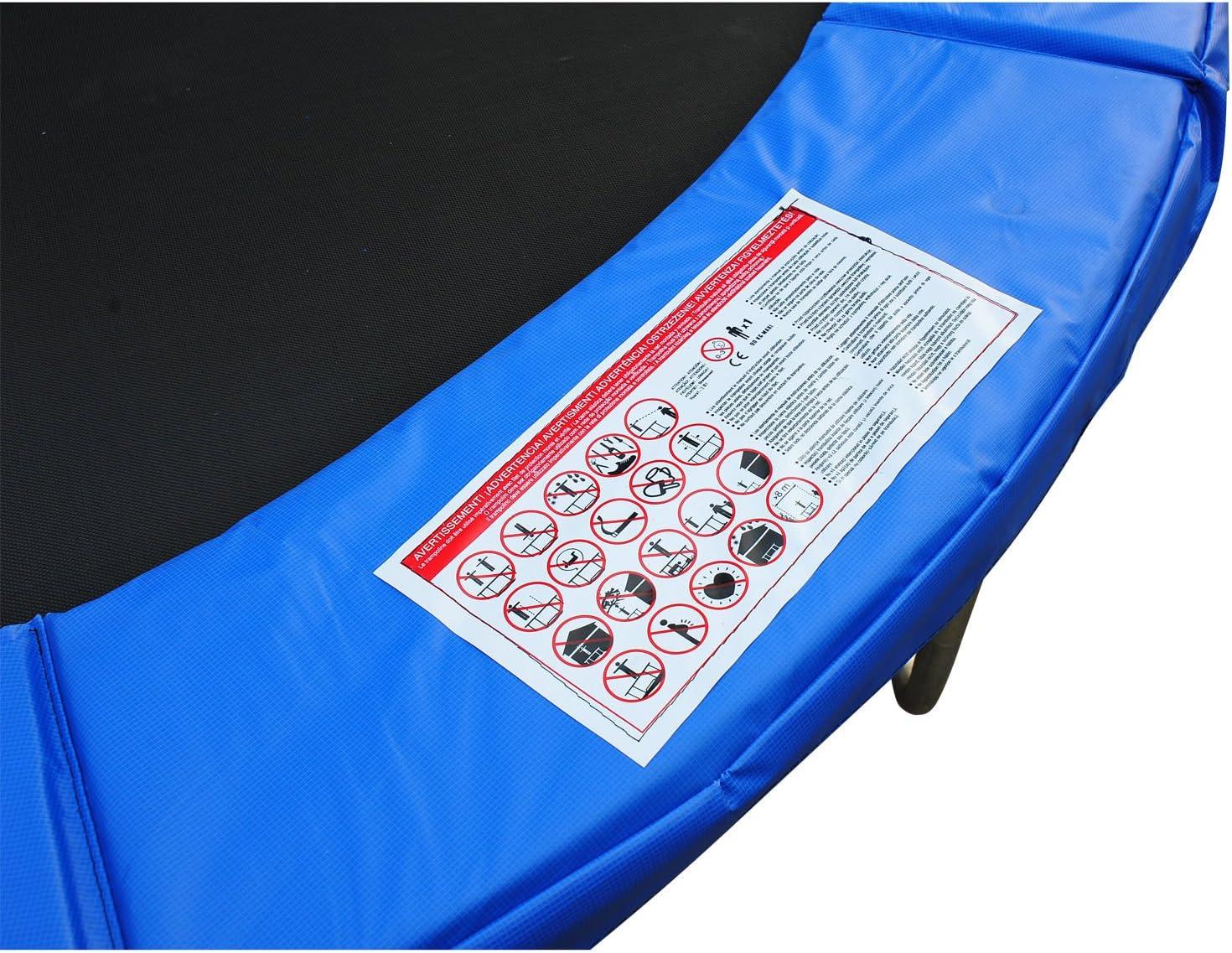 Φ8ft Trampoline Pad Spring Safety Replacement Gym Bounce Jump Cover EPE Foam