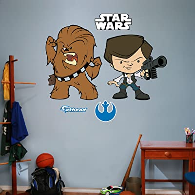 Han Solo & Chewbacca POP wall decals