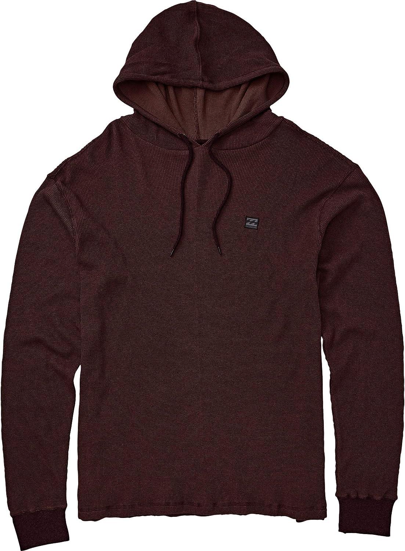BILLABONG Mens Keystone Thermal Pullover Hoodie Shirt