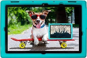 BobjGear Bobj Rugged Tablet Case for Lenovo 10e Chromebook Tablet Kid Friendly (Terrific Turquoise)