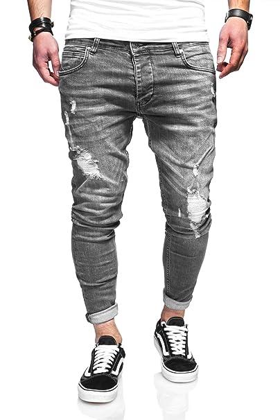 behype. Herren Destroyed Jeans-Hose 80-3496