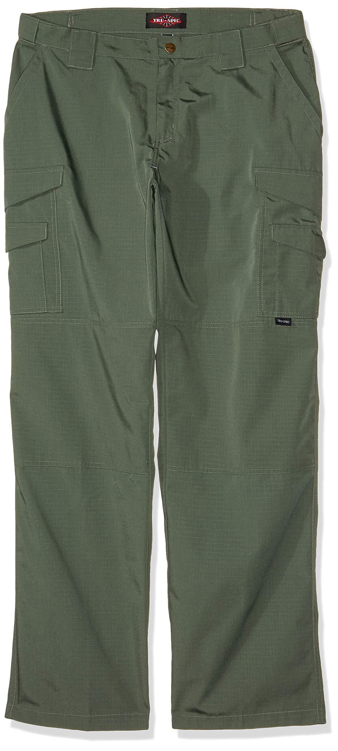 Tru-Spec Women's 24-7 Tactical Pants, Olive Drab, W: 4 Large: 30 by Tru-Spec