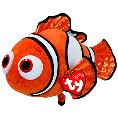 Ty Beanie Babies Finding Dory Nemo Regular Plush: Toys & Games
