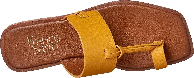 Franco Sarto Women's Milly Flat Sandal Goldenrod