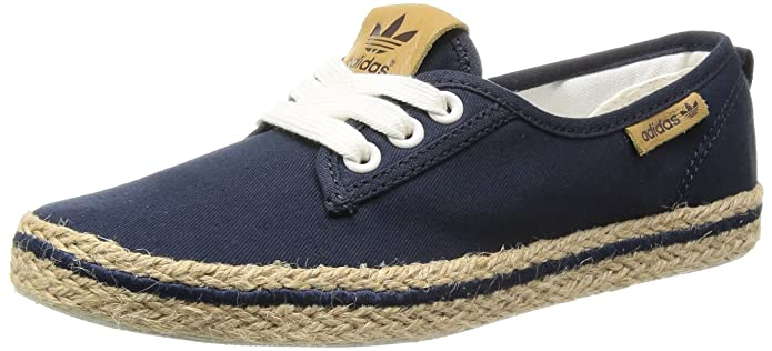 adidas Honey Plimsole Espadrille Women Blau D65690 Blue Blau