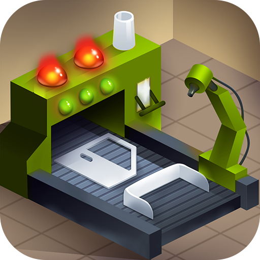 Factory Line Tycoon – Car Manufacturing Management