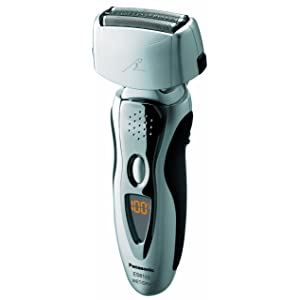 Panasonic ES8103S Arc3 Men's Electric Shaver Wet/Dry with Nanotech Blades, 3-Blade Cordless with Flexible Pivoting Head