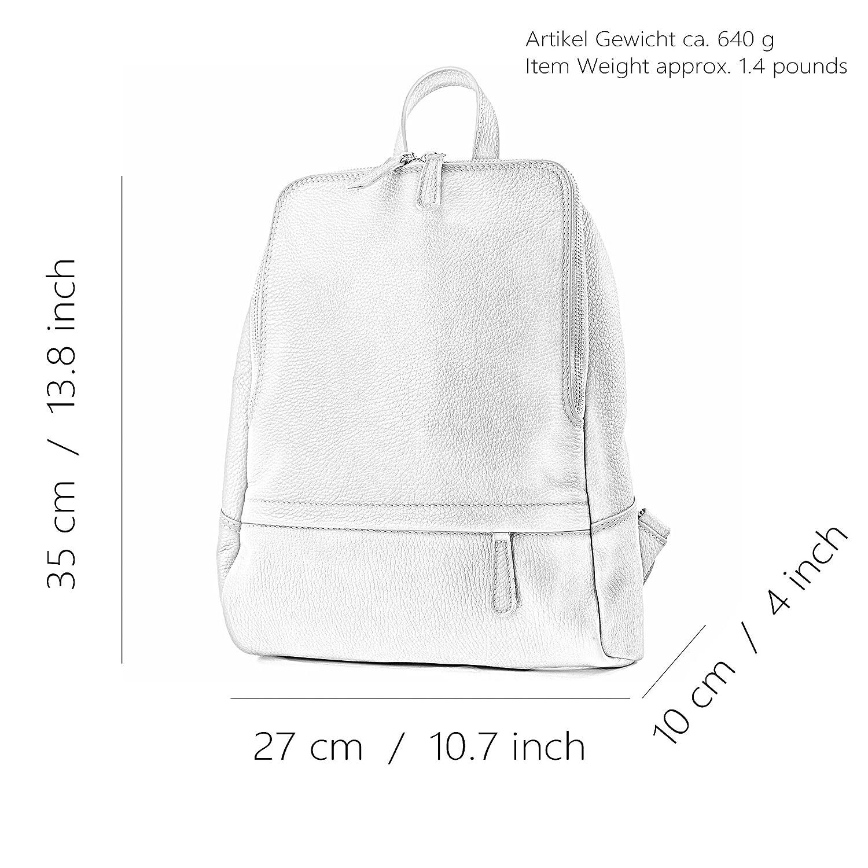 modamoda de – T138 – ital dam ryggsäck av läder Altrosa