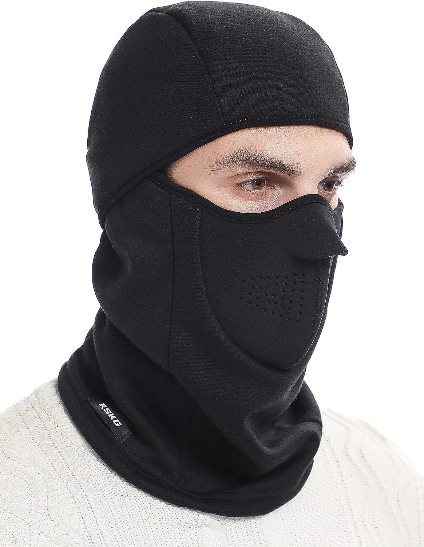 Neck Warmer Windproof Motorcycle Helmet Ski Snowboard Mask Cycling Black