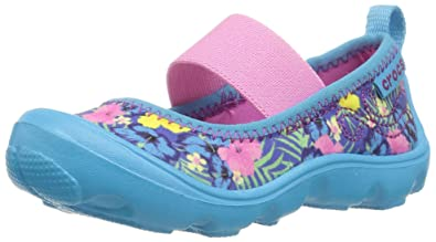 4cc6f37aa12d crocs Girls  Duet Busy Day MJ Graphic PS Mary Jane