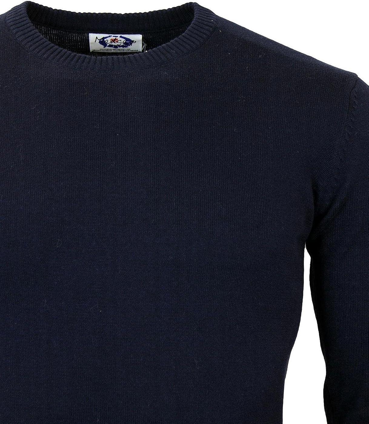 Madcap England Herren Strickjacke Blau Marineblau//rot