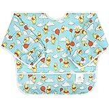 Bumkins Disney Baby Waterproof Sleeved Bib, Winnie The Pooh Balloon (6-24 Months)