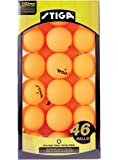 STIGA 1-Star Table Tennis Balls (46 Pack)
