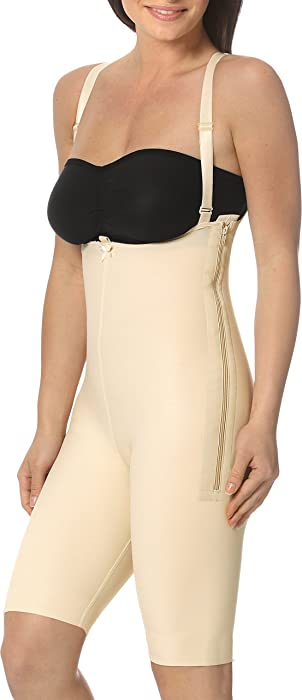 533a734578 Marena Support Girdle with Suspenders and Short Legs (M