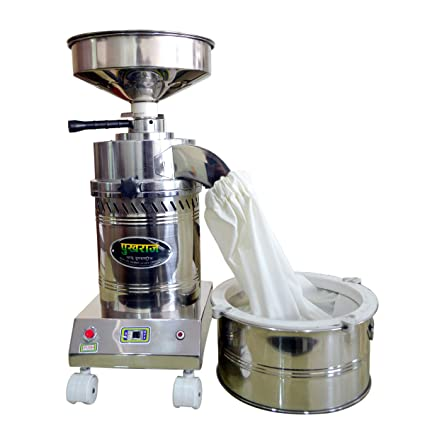 Buy Pukhraj Stainless Steel and Cast Iron with Grinding Stone Table