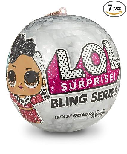 Amazon.com: L.O.L. ¡Sorprenda! Dolls Bling Series 3-1: Toys ...