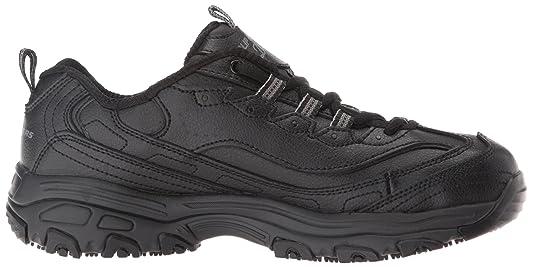 bac60b087c159b Amazon.com | Skechers for Work Women's D'lites Slip-Resistant Marbleton Shoe  | Shoes