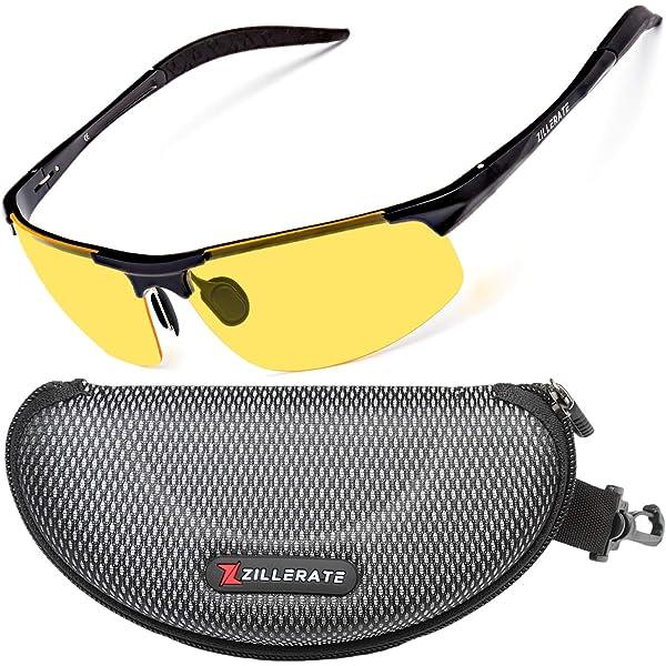 Black Frame With Gray Lenses Rugged Frame Pesca Polarized Fishing Sunglasses Wraparound Sport Sunglasses with Impact-Resistant TAC Lenses and Strong