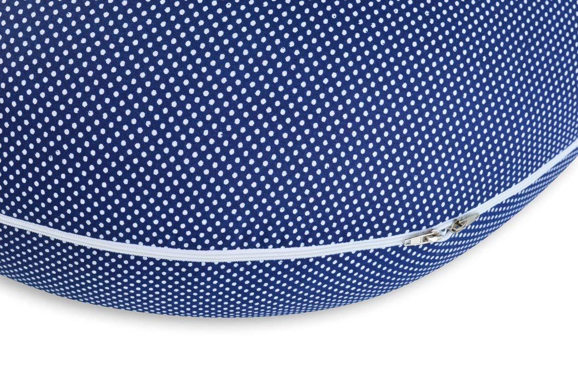 Housse avec fermeture /éclair et broderie de qualit/é sup/érieure XXL 190 x 30 cm Sei Design Coussin dallaitement Coussin de grossesse Certifi/é /Ökotex Standard 100
