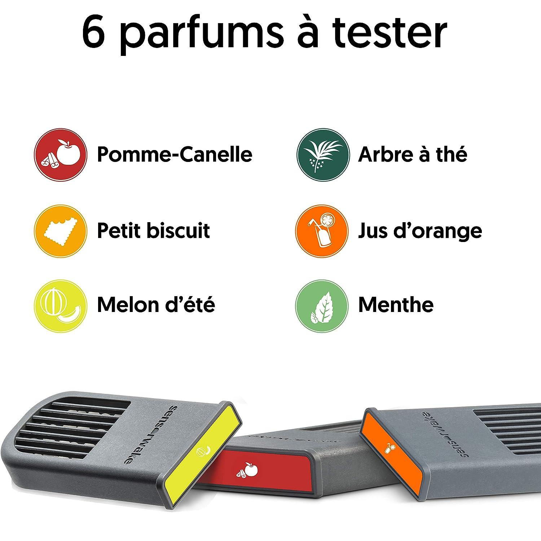 6 capsules parfum/ées Lumi/ère Sensorwake 2 M/élodie R/éveil olfactif R/éveil sensoriel Pack D/écouverte Parfum