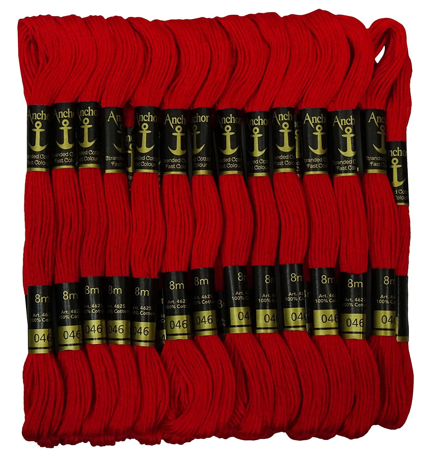 Anchor Cross Stitch Hand Embroidery Stranded Cotton Floss Thread 25 Skeins
