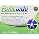 Follicaide - Hair Growth Follicle Support & Thinning Resistence - 60 Count - 1 Month Supply