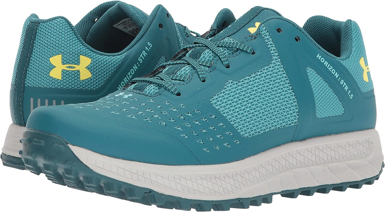 Under Armour Women's Horizon Str 1.5 Hiking Shoe B072QBFGP5 8 B(M) US|Loft Teal/Desert Sky/Tokyo Lemon