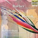 Barber: Prayers of Kierkegaad / Vaughan Willliams: Dona Nobis Pacem / Bartok: Cantata profana
