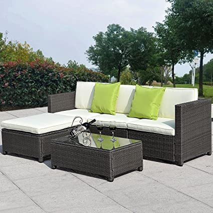 Elizabeth Cast Aluminum Powder Coated 9pc Outdoor Patio Sofa ...