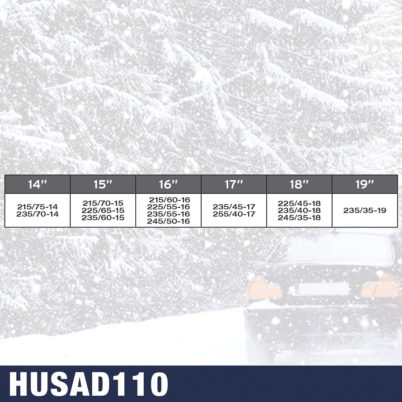 SUMEX Husa100 Normal Kn100 Cadenas De Nieve Husky Advance 9 mm O