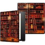 Capa para Kindle Oasis 2019-2021 (aparelho com temperatura de luz ajustável) - Biblioteca