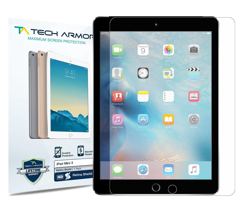 amazon com apple ipad mini retinashield screen protector tech