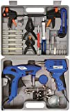 Vivo © Soldering Gun Iron Electric Glue Gun Clamps Helping Hand Magnifying Glass Pump Scraper Tweezer LED Light Solder Flux Knife