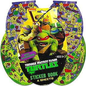 TMNT Teenage Mutant Ninja Turtles Sticker Pad- 276 Stickers!