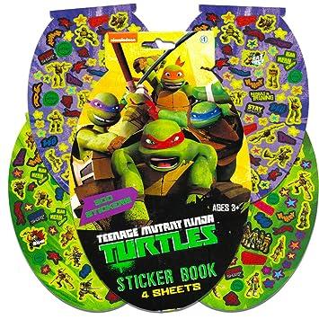 TMNT Teenage Mutant Ninja Turtles Sticker Pad- 276 Stickers ...