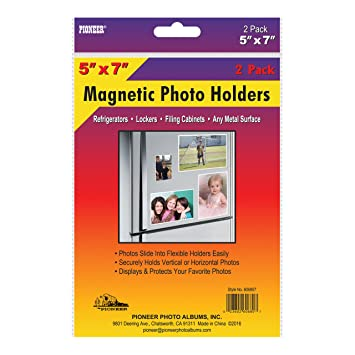 pioneer 606807 freez a frame photo albums 5x7 in magnetic photo frame