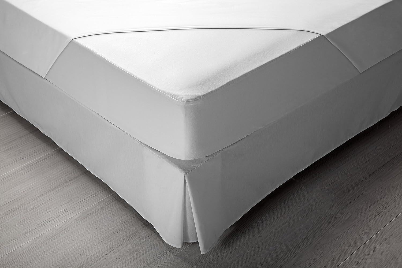 Pikolin Home - Protector de colchón Punto, 100% algodón, Impermeable ...