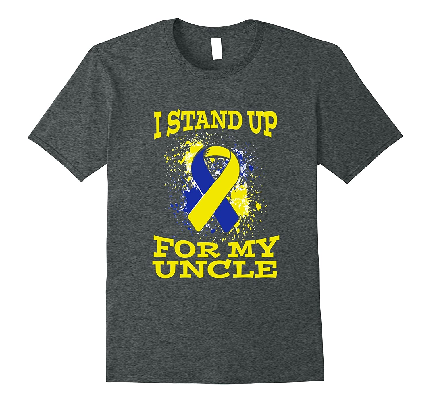 I Stand Up For My Uncle Tshirt Down Syndrome Awareness-FL