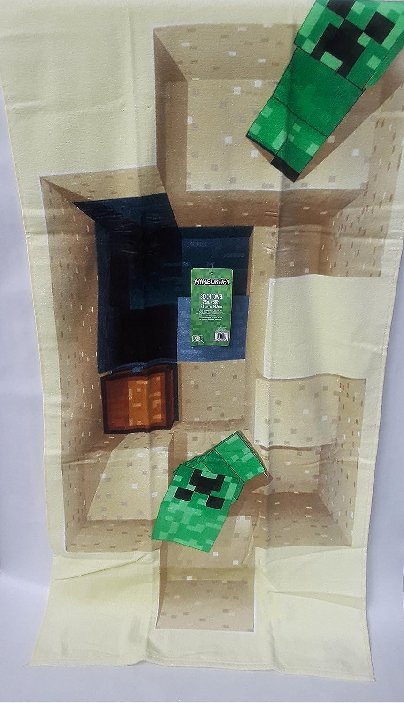 Minecraft Strand//Bad Handtücher 100% Baumwolle 28 in W X58 in L ...