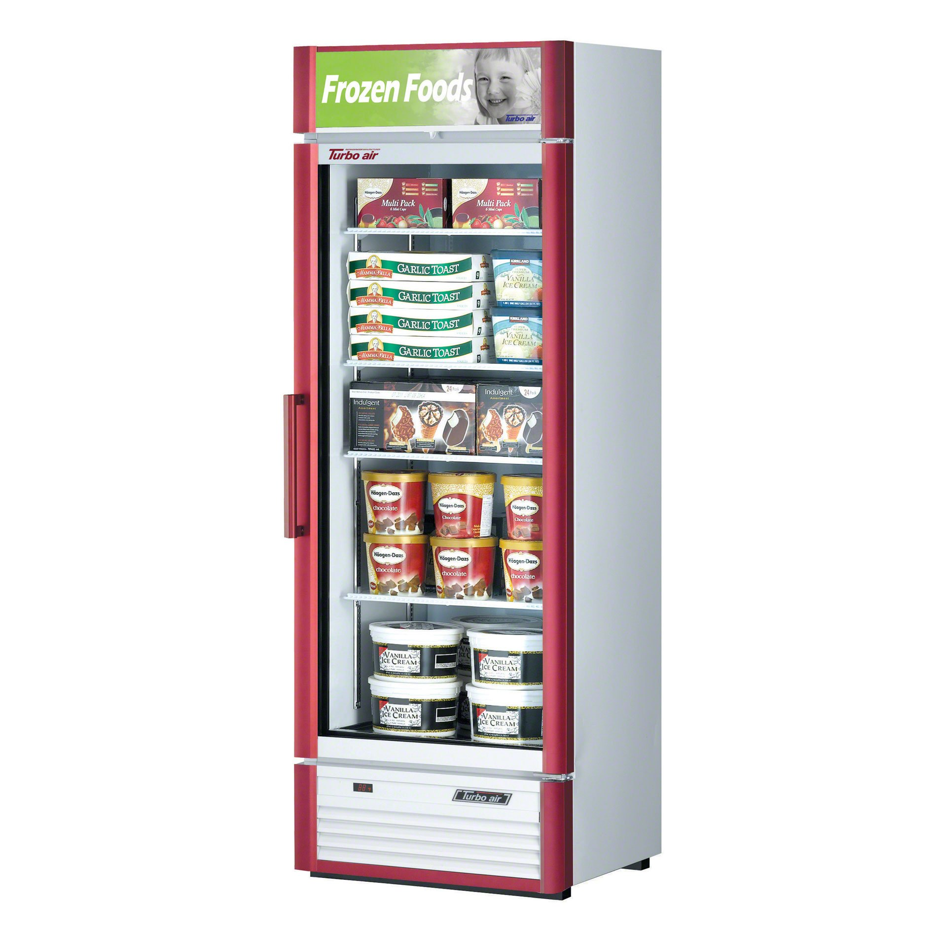Turbo Air (TGF-15SD) - 27'' Glass Door Freezer - Super Deluxe Series-Restaurant Equipment