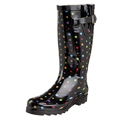 Western Chief Dazzling Dots Waterproof Rain Boot (Women) Kifs4