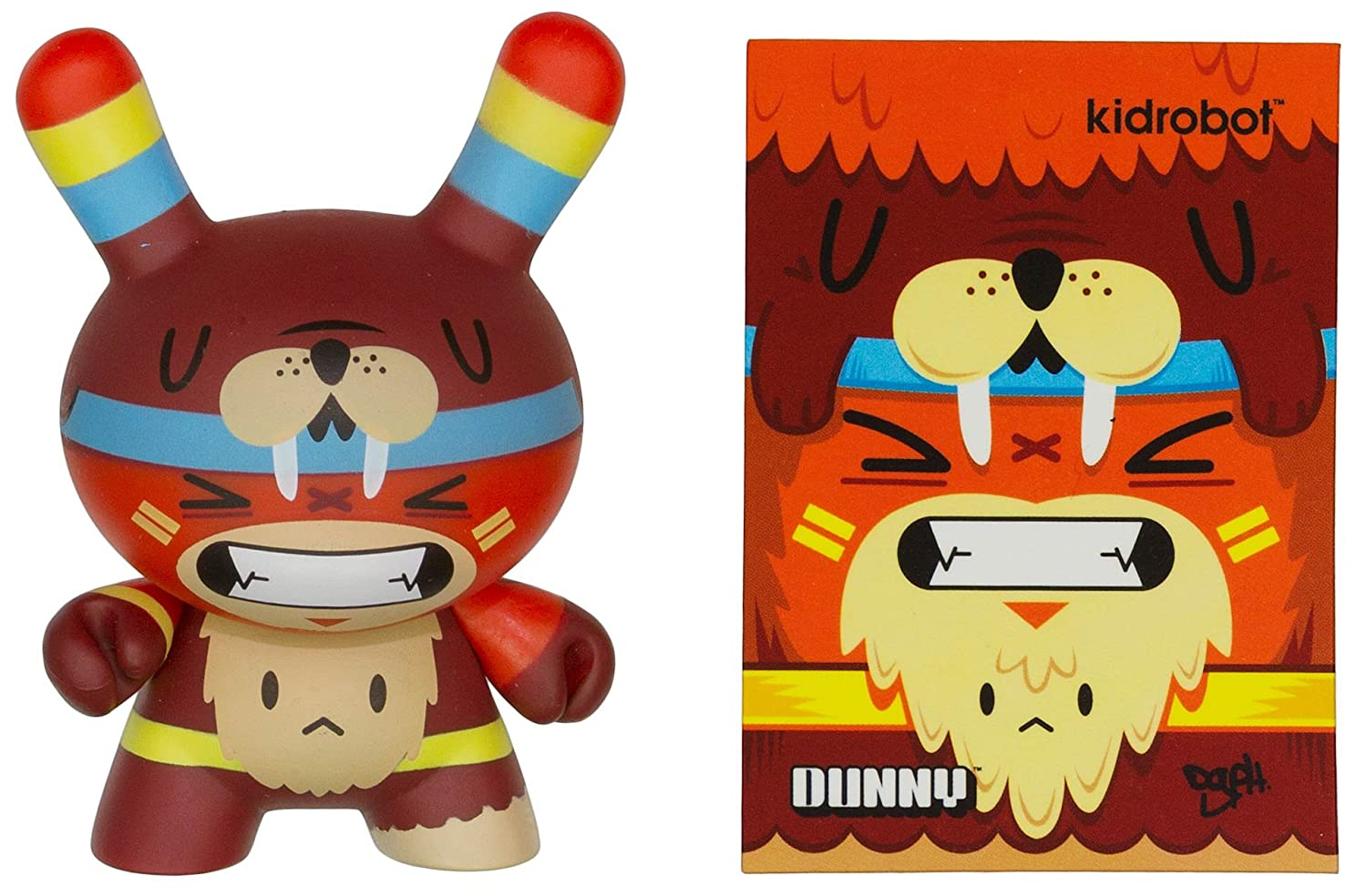 "Totem Bear Owl by DGPH ~3"" Figure: Dunny 2013 Side Show Series [04]"