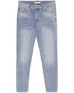 14e68dbe Zara Men's Ripped Carrot fit Jeans 7223/461: Amazon.co.uk: Clothing