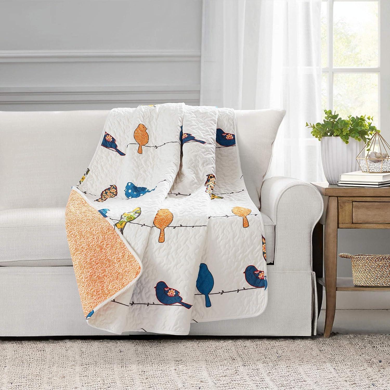 Lush Decor Rowley Birds Throw Blanket, 60