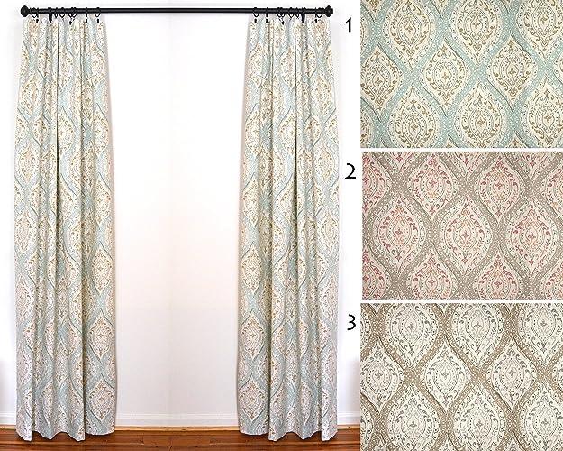 Custom Curtains Draperies By The Pair Magnolia Ariana Spa