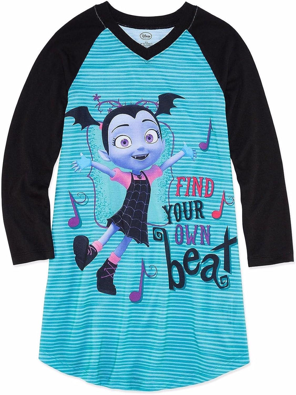 Vampirina Disney Girls Long Sleeve Nightgown (4) Blue
