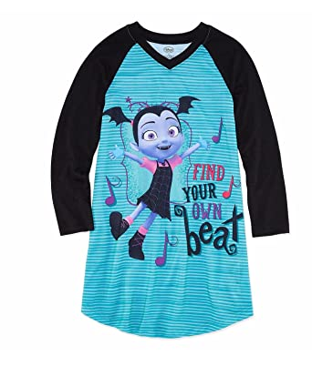 dee434e08 Image Unavailable. Image not available for. Color: Vampirina Disney Girls  Long Sleeve Nightgown ...
