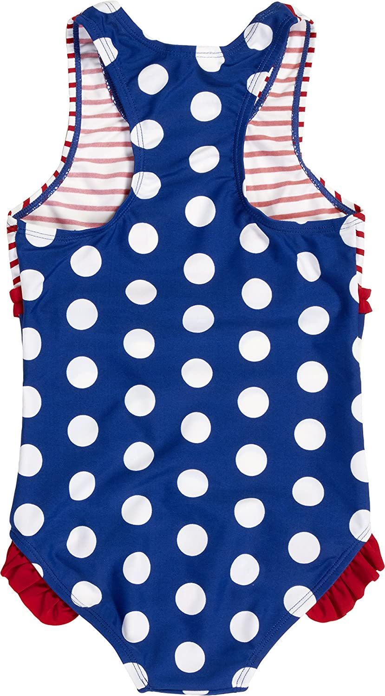 66d87901 Playshoes Girl's UV Sun Protection Bathing Suit Seahorse Swimsuit,  (Blue/White), 7-8 Years: Amazon.co.uk: Clothing
