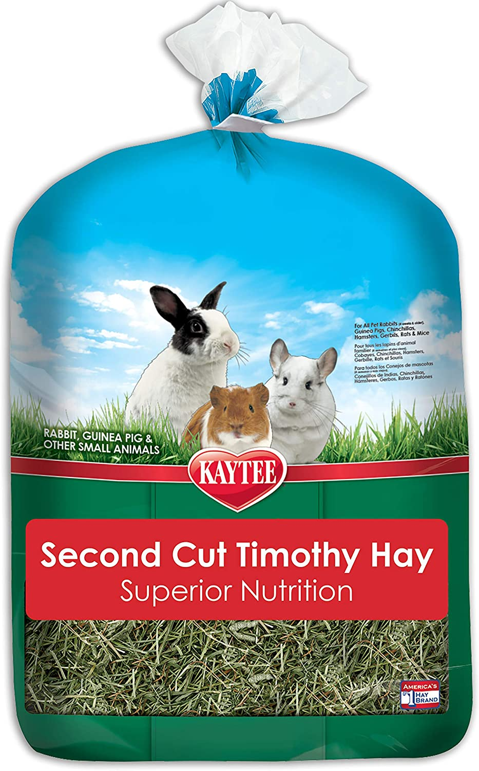 Kaytee Timothy Hay - 1st Cut or 2nd Cut - 6.5 lbs